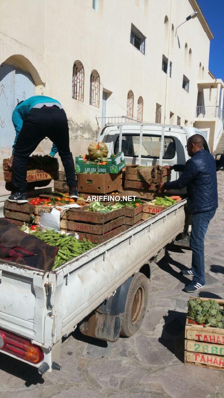 +صور: السلطات المحلية بالناظور تواصل حملتها لتنظيف الناظور من عربات الحمير