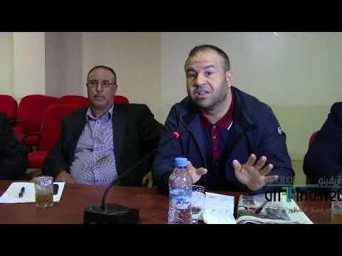 """+فيديو: حوليش يوجه هذه الرسالة """"السرية"""" لقضاة المجلس الاعلى للحسابات قبل ساعات من وصولهم الى بلدية الناظور؟؟"""