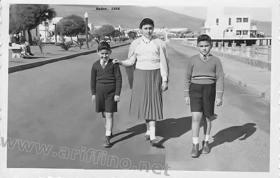 اريفينو تنشر 90 صورة نادرة له: كورنيش الناظور.. ملتقى الاصدقاء و نزهة العائلات عبر التاريخ