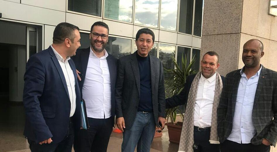 المدير العام للجمارك يجتمع بائتلاف مستثمري الناظور و رئيس الشرق و يتفقون على اجراءات لتطوير الحركة التجارية بالمنطقة