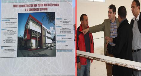 بالصورــ رئيس مجلس اقليم الدريوش يزور جماعة تازغين واتروكوت لإطلاق مشاريع تنموية