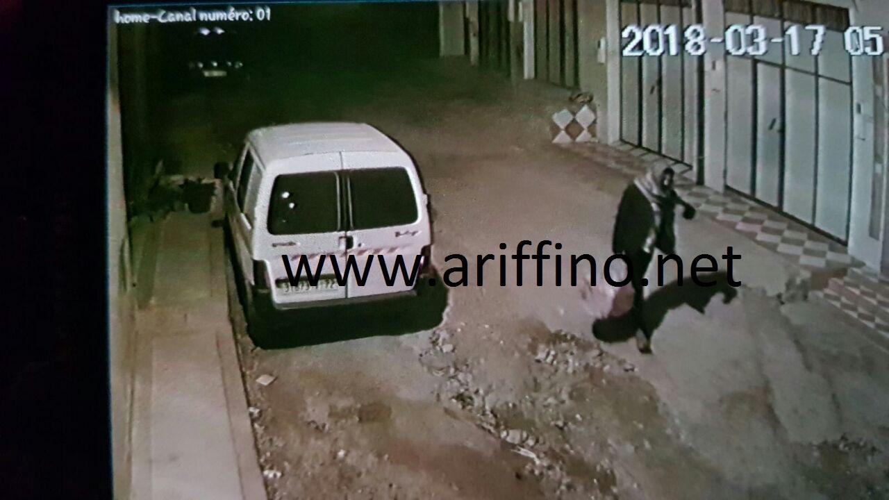 صور وفيديو : مواطنون من جعدار ينصبون كمينا لعصابة تقوم بسرقة المنازل