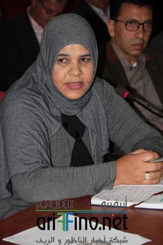 +فيديـــو : رئيسة بني سيدال فاطمة بوحميدي تطالب المجلس الجهوي للحسابات بمصاحبة و تكوين الرؤساء