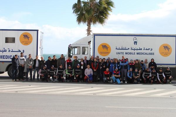 صور : 520 مستفيد من قافلة الخير الطبية بجماعة بني سيدال الجبل