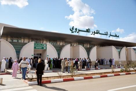 ارتفاع عدد مستعملي مطار الناظور – العروي بأزيد من 8 في المائة خلال فبراير الماضي
