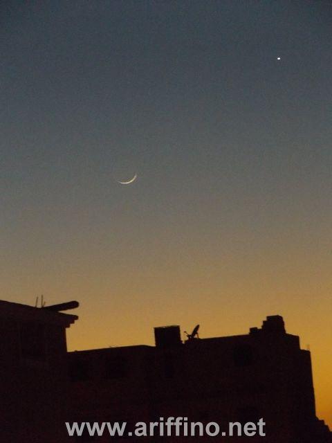 +الصور…جمعية المبادرة المغربية للعلوم والفكرترصد ثبوث رؤية هلال رجب بالمغرب
