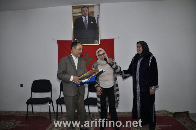 """+ الصــور: ثانوية """"سلوان الحساني """"تنظم أمسية ثقافية بحضور الشاعر عبد السلام بوحجر"""