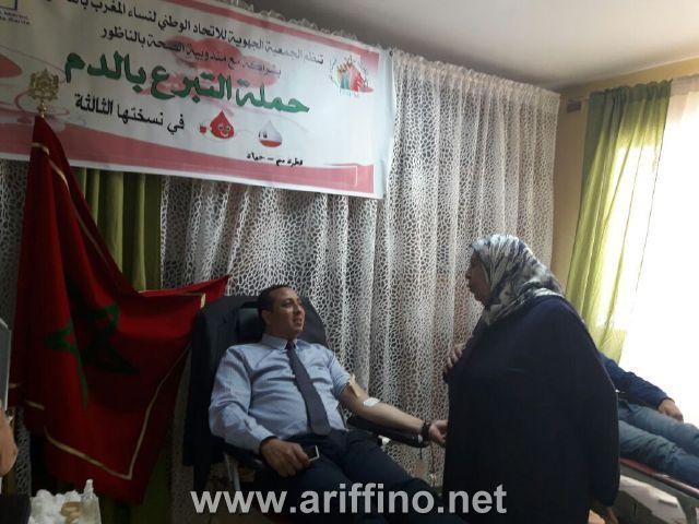 روبورتاج مصور :دار الام بالناظور في أيامها المفتوحة ..الانطلاقة بحملة ناجحة للتبرع بالدم