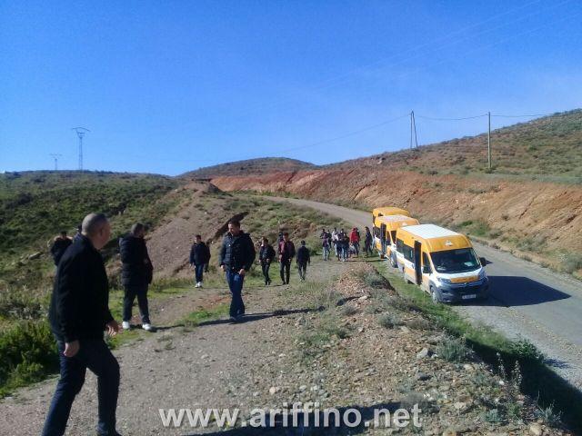جمعيات المجتمع المدني بجماعة امطالسة اقليم الدريوش تنظم رحلة ترفيهية واستكشافية لفائدة 60 تلميذ