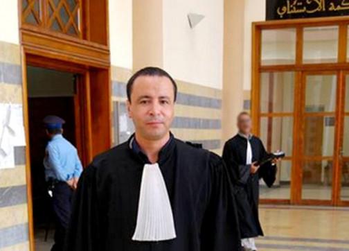 إدانة محامي حراك الريف البوشتاوي بسنتين نافذة بدعوى من وزير الداخلية