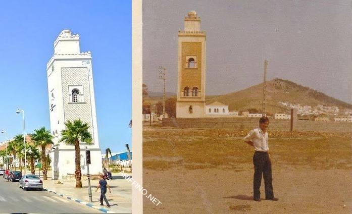 +صورة نادرة:وطنيا تُعتبر اشهر صومعة بدون مسجد..ما حكاية هذه الصومعة الموجودة بساحة الشبيبة بالناظور؟؟