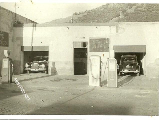 +صور تاريخية لها:اريفينو تنفرد بنشر صور نادرة لأول وأقدم محطة وقود بالناظور