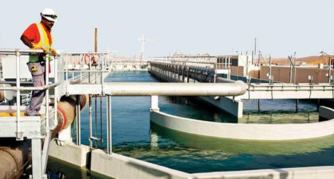 مواطن واحد يمنع اطلاق محطة معالجة المياه باقليم الدريوش لهذا السبب الغريب؟؟