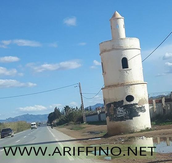 حديث الصورة:ما قصة هذه البناية الموجودة بين بوعرك وقرية اركمان؟؟