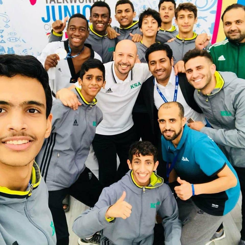 +صور: بقيادة بطل ريفي.. المنتخب السعودي للتايكواندو يتألق ببطولة العالم للشباب