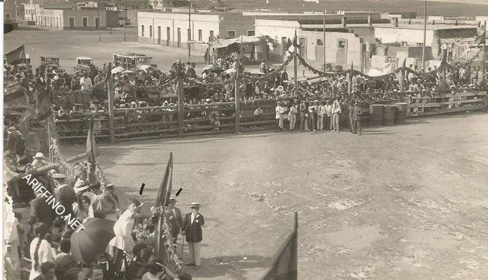 +صور تاريخية:مهرجان «مصارعة الثيران » بالناظور رياضة اسبانية لم تقاوم الإندثار