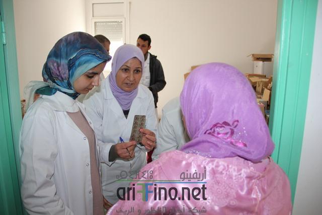 + صور : مندوبية الصحة بالناظور بتعاون مع جمعية أمانة في قافلة طبية مجانية لفائدة ساكنة زايو ..