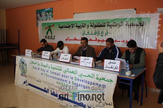 + صور :جمعية الحي العمالي للتنمية و البيئة بأزغنغان في لقاء تواصلي لاستعراض برنامج أنشطتها القادمة …