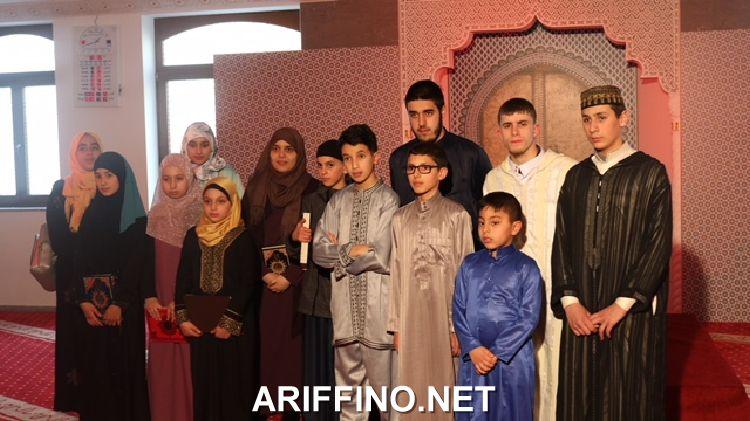 روبورتاج: المجلس الأوروبي للعلماء المغاربة و 2M ينظمان ببروكسيل التصفيات النهائية لمسابقة مواهب في تجويد القرآن الكريم.