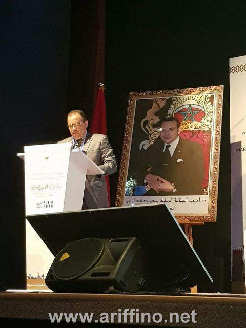 + الصور : مشاركة مميزة للدكتور أحمد خرطة من كلية الناظور في مؤتمر مراكش الدولي للعدالة