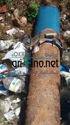 صور +فيديو : حفرة كبيرة وسط المستشفى الحسني بالناظور تشكل خطرا على المواطنين تنتظر الإصلاح..؟!
