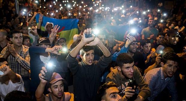 عودة الاحتجاجات إلى الريف والمئات يطالبون بحقهم في الأرض