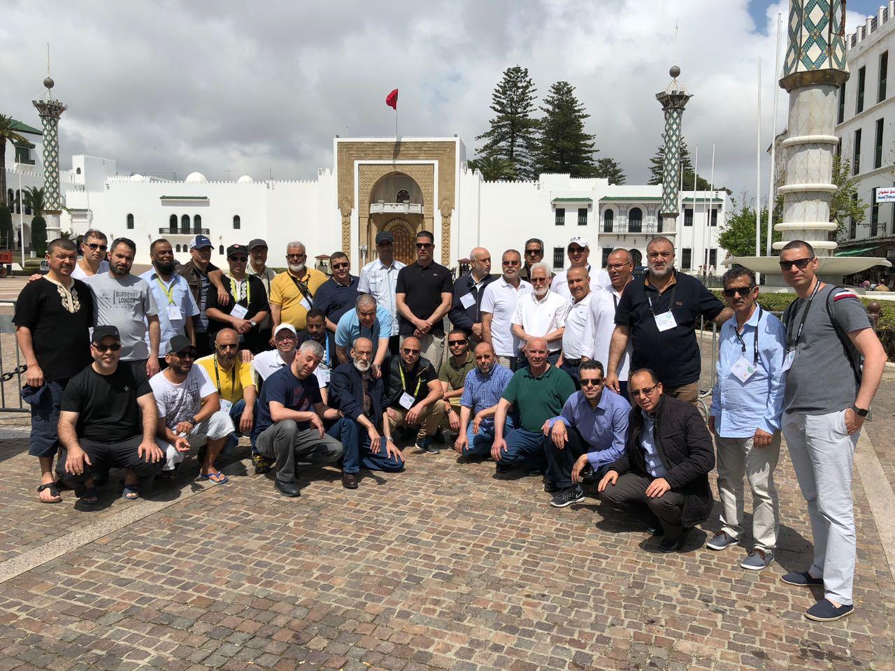 شاهد بالصور:الجمعية الاسلامية للشباب و الخدمات الاجتماعية بفرانكفورت بالمانيا تنظم زيارة تواصلية للمغرب