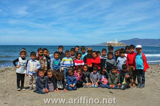 تزغين: جمعية التضامن في رحلة ترفيهية للشريط الساحلي تزغين الحسيمة