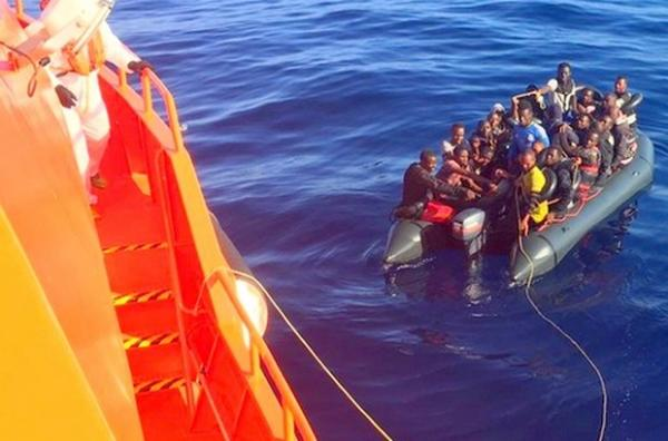إحباط محاولة هجرة 128 مهاجرا غير شرعي بسواحل الريف