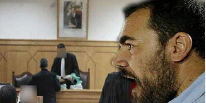 """""""قربالة"""" وسط جلسة محاكمة معتقلي الحراك أثناء تقديم """"شرطي"""" لشهادته"""