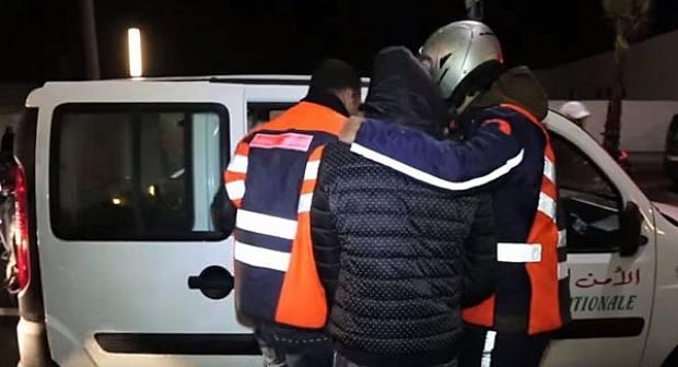 القبض على عنصر من عصابة إجرامية خطيرة ضواحي الناظور متخصصة في سرقة المنازل
