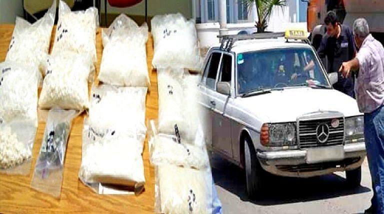 حجز حوالي 750 غرام من الكوكايين بالناظور على متن تاكسي