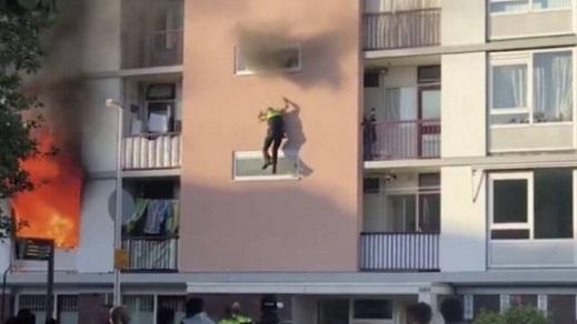 +فيديو:تطورات جديدة ومثيرة حول الحريق الذي حَوّل مهاجر ناظوري لبطل بهولندا