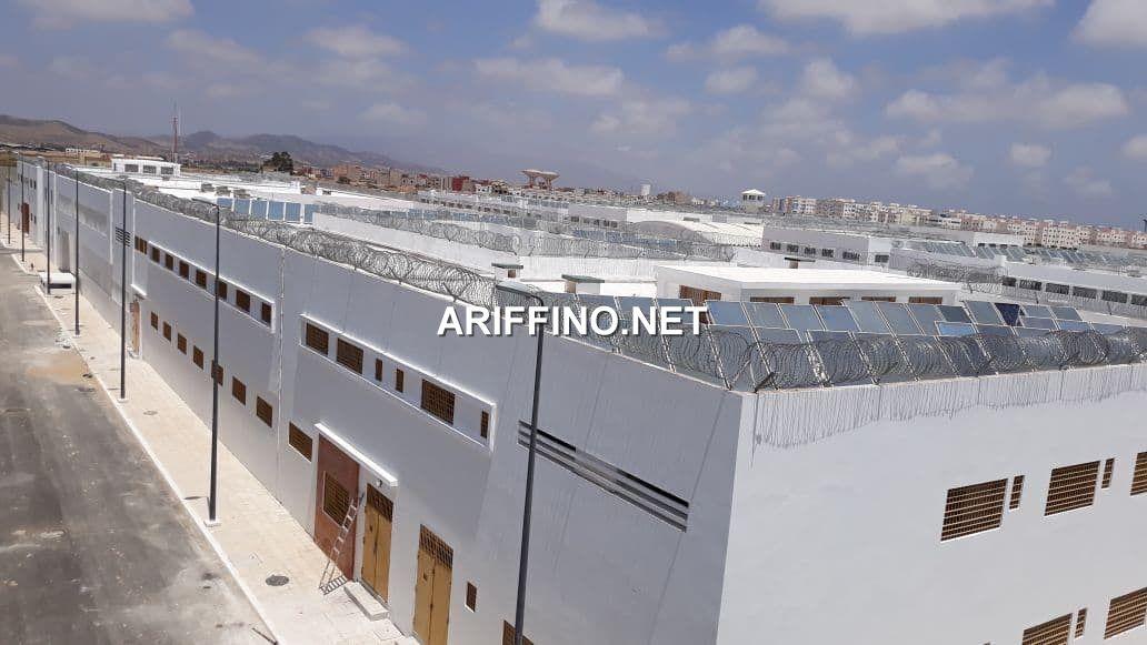 أريفينو تكشف لاول مرة عن صور من داخل سجن الناظور الجديد بسلوان..اسرة فردية و تلفزيونات اخر طراز و ملاعب رياضية