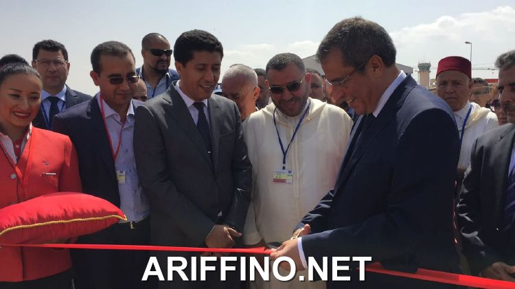 روبورتاج: إعطاء الانطلاقة لأول رحلة جوية بين الناظور و الدار البيضاء بسعر 300 درهم