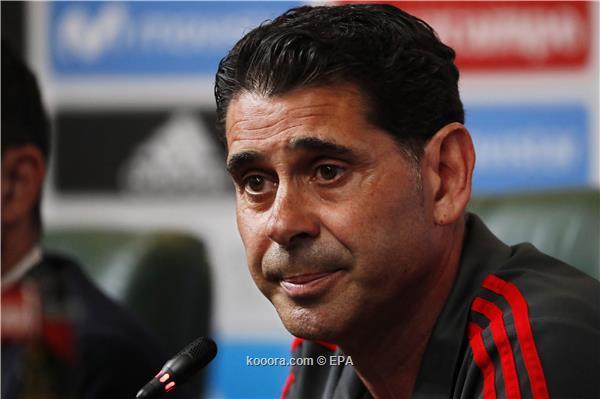 هييرو مدرب اسبانيا الجديد: لوبيتيجي أصبح من الماضي.. وسنواجه الأمر بشجاعة