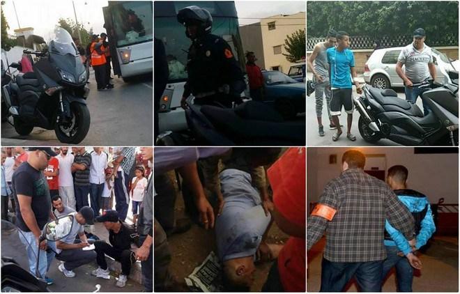 """المصالح الأمنية ببني انصار تشن حملة واسعة ضد """"الكريساج"""" و""""الشمكارة"""" وتوقف عشرات المشتبه بهم"""