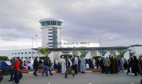 ارتفاع عدد المسافرين عبر مطار الناظور – العروي في يونيو