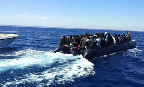 انقاذ 97 مهاجرا سريا ابحروا من سواحل الناظور