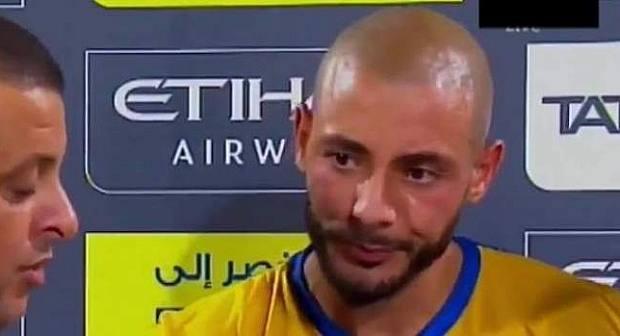 فيديو: الريفي لمرابط غاضب من مدرب النصر وهذا ما قاله بالدارجة للصحافة بعد المباراة