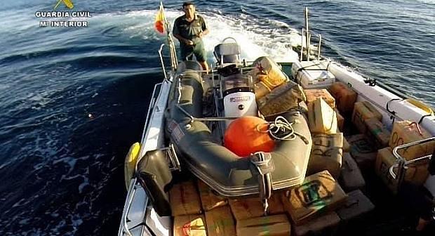 الأمن الاسباني يطيح بشبكة لتهريب للحشيش واسعة النفوذ بشمال المغرب