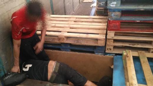 +صور: القبض على ثلاثة مغاربة اثناء محاولتهم الحريك من مليلية الى أوربا