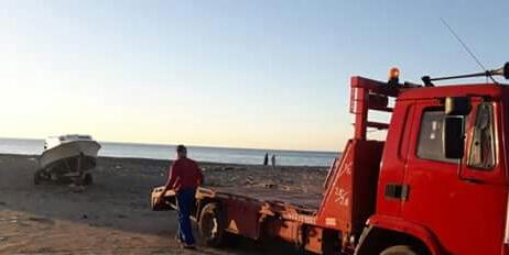 +صور: الدرك يحبط عملية هجرة ضواحي الناظور..يعتقل 3 اشخاص و يحجز قاربا
