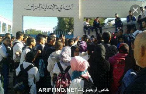 تلميذات بثانوية اعزانن يتعرضن للتحرش والإعتداءات والأباء يستعدون للإحتجاج