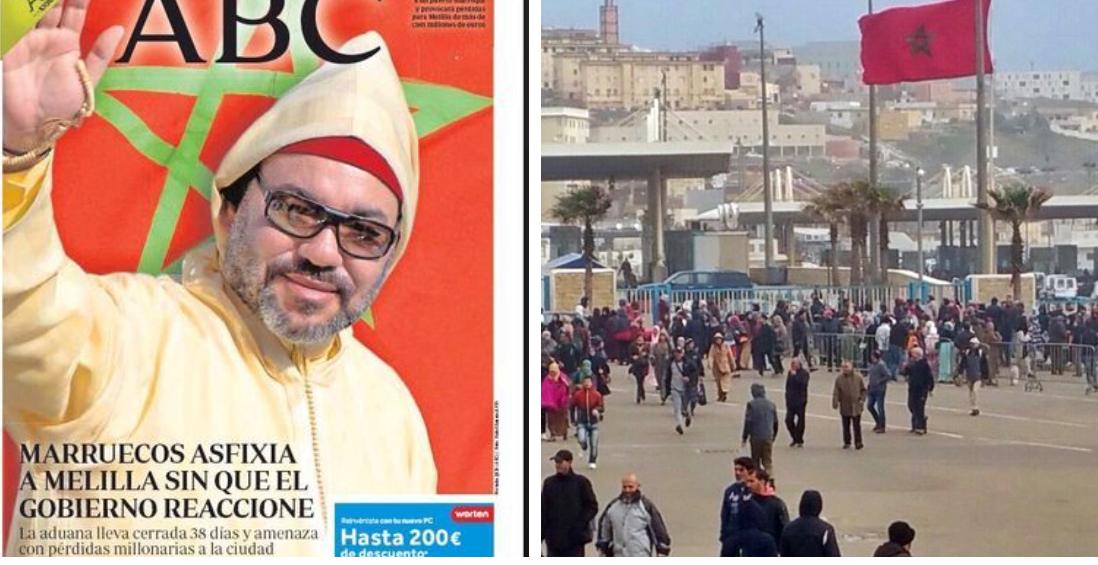 الصحافة الإسبانية: المغرب يخنق مليلية وحكومة مدريد تتفرج
