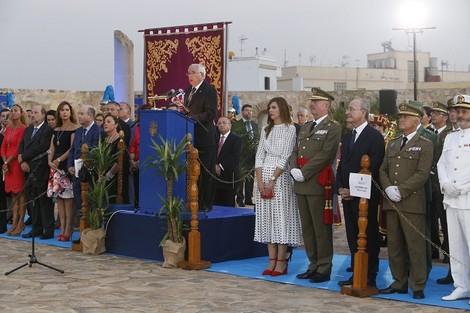 حاكم مليلية المحتلة يهاجم المغرب في احتفالية الذكرى 521 لاحتلال مليلية
