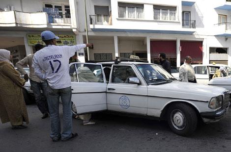 عاجل: وفاة سائق تاكسي وسط الناظور بهذه الطريقة؟؟