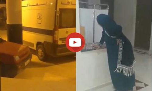 اقليم الدريوش:مواطن يستنكر رفض نقل زوجته الحامل بسيارة إسعاف بميضار ( فيديو)