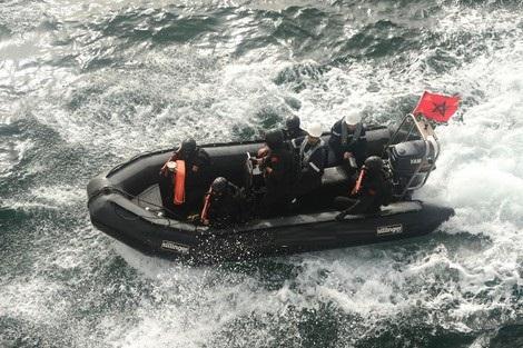 البحرية الملكية تستنفرُ وحداتها لإنقاذ مهاجرين من الريف عالقين في المتوسط