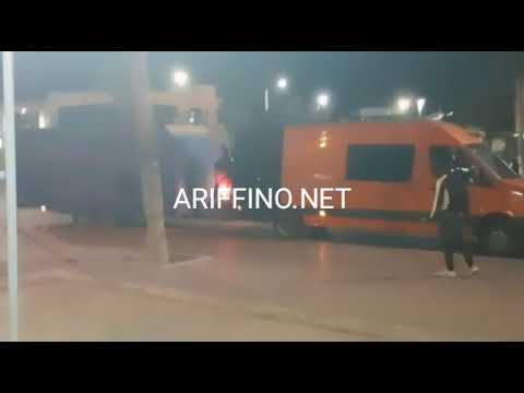 فيديو جديد: مغامرات خطيرة للقاصرين الحراكة في ميناء الناظور